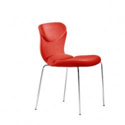 Chaise design Italia, Midj rouge
