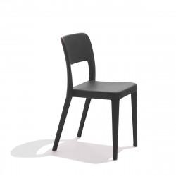 Chaise design Nene, Midj noir