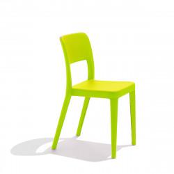 Chaise design Nene, Midj vert