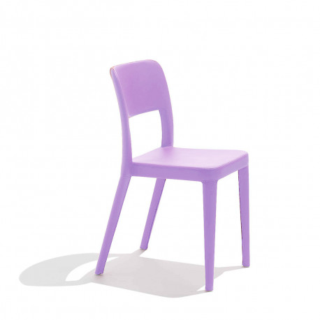 Chaise design Nene, Midj violet lilas