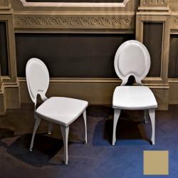 Chaise design Revolution, Midj beige