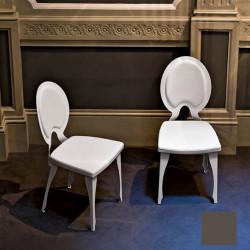 Chaise design Revolution, Midj gris clair