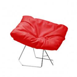 Fauteuil design Mask, Midj rouge