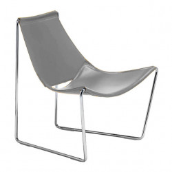 Chaise lounge Apelle AT, Midj gris clair