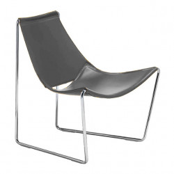 Chaise lounge Apelle AT, Midj gris foncé