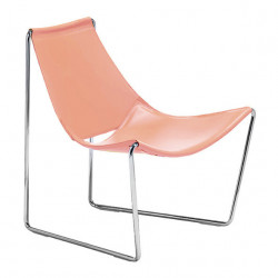 Chaise lounge Apelle AT, Midj rose poudré