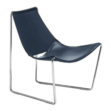 Chaise lounge Apelle AT, Midj bleu