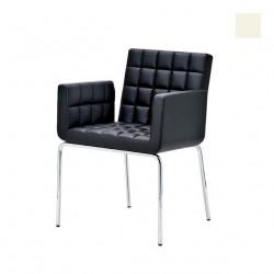 Chaise design Marsiglia, Midj blanc