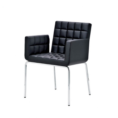 Chaise design Marsiglia, Midj noir