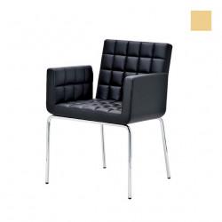 Chaise design Marsiglia, Midj beige