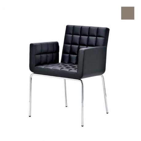 Chaise design Marsiglia, Midj gris clair
