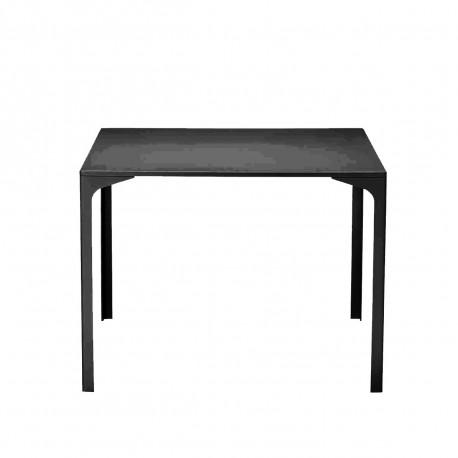 Table Armando carrée, Midj graphite 90x90 cm