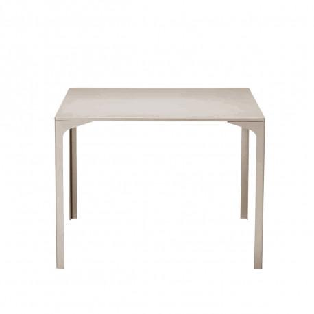 Table Armando carrée, Midj sable 90x90 cm