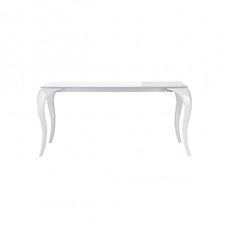 Table Bond, Midj blanc 160x90 cm