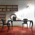 Table Bond à rallonges, Midj graphite 160/260x90 cm