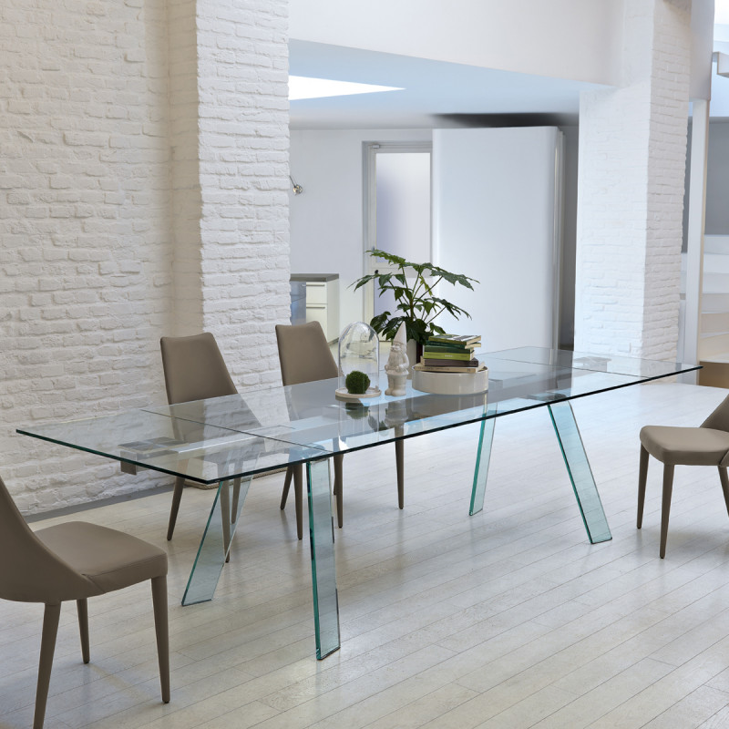table verre toronto midj plateau verre pieds verre 200. Black Bedroom Furniture Sets. Home Design Ideas