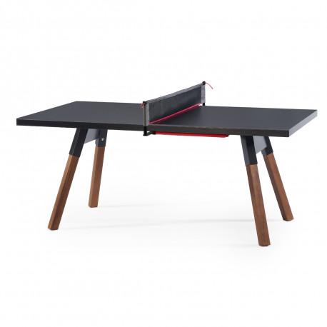 Table à manger ou Table de ping pong You & Me, RS Barcelona noir 274x152,5 cm