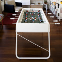Baby foot design RS3, RS Barcelona blanc