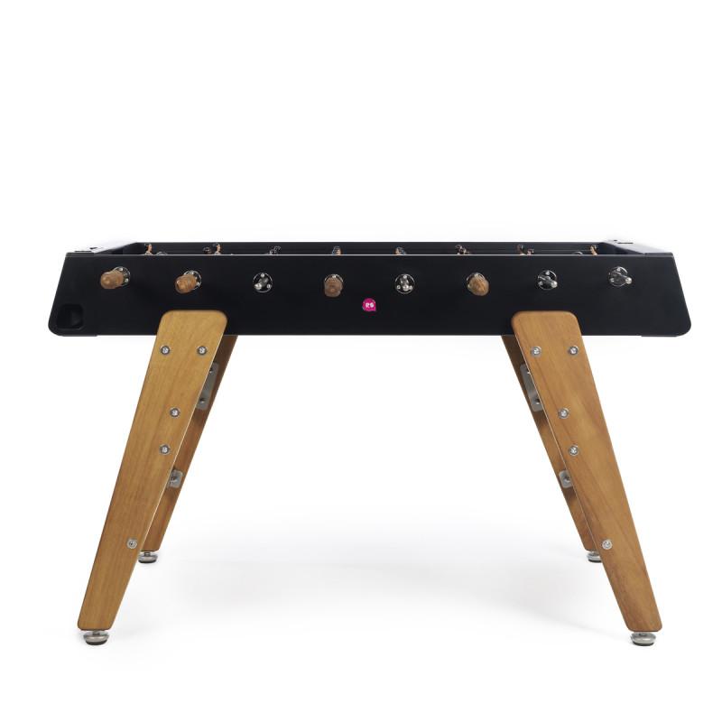 baby foot design pieds bois rs3 rs barcelona noir cerise sur la deco. Black Bedroom Furniture Sets. Home Design Ideas