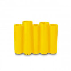 Jardinière Bamboo, Slide Design jaune Mat