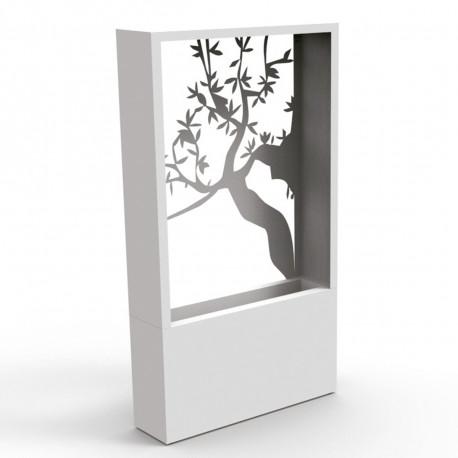 Pot de jardin design Olivier, Talenti blanc