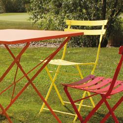 Chaise de jardin Pretty, Talenti jaune