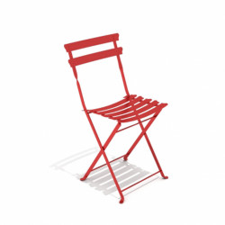 Chaise de jardin Pretty, Talenti rouge