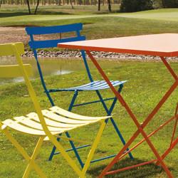 Chaise de jardin Pretty, Talenti bleu