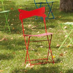 Chaise de jardin Smart, Talenti rouge
