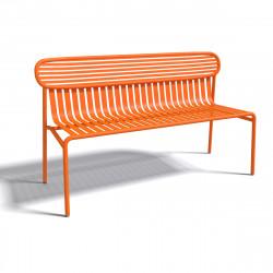 Banc design Week-end, Oxyo mandarine