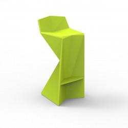 Tabouret design Vertex, Vondom pistache Mat