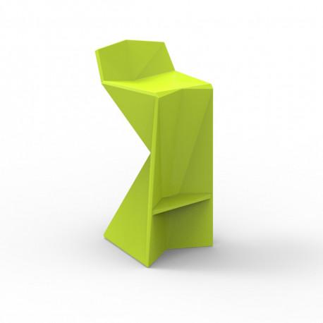 Tabouret design Vertex, Vondom pistache Laqué