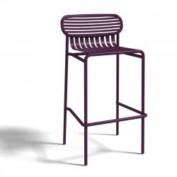 Tabouret design Week-end, Oxyo mûre