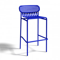 Tabouret design Week-end, Oxyo outremer