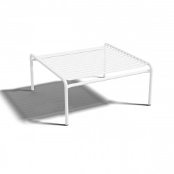 Table basse design Week-end, Oxyo blanc