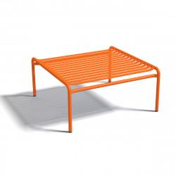 Table basse design Week-end, Oxyo mandarine