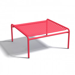 Table basse design Week-end, Oxyo fraise