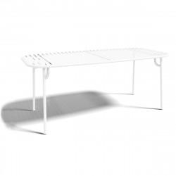 Table à manger design Week-end, Oxyo blanc