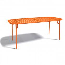 Table à manger design Week-end, Oxyo mandarine