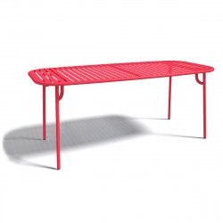 Table à manger design Week-end, Oxyo fraise