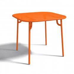 Table Bistrot Week-end, Oxyo mandarine
