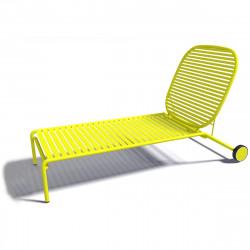 Chaise longue design Week-end, Oxyo ananas