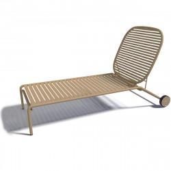 Chaise longue design Week-end, Oxyo grès