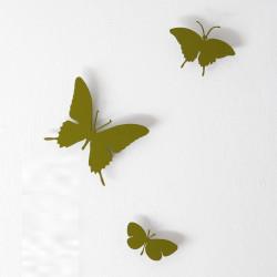 Papillons horloge Butterfly, Diamantini & Domeniconi vert