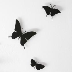 Papillons horloge Butterfly, Diamantini & Domeniconi noir