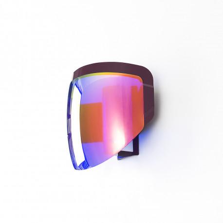 Applique Moto, Moustache violet Branchement prise
