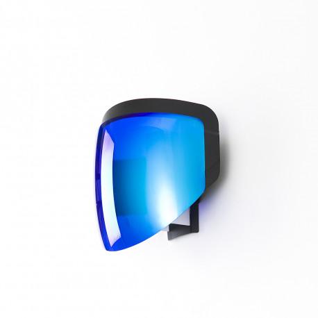 Applique Moto, Moustache bleu Branchement prise