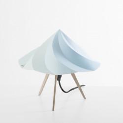 Petite Lampe Chantilly, Moustache bleu