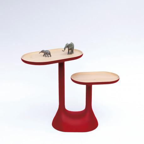 Baobab table, Moustache rouge