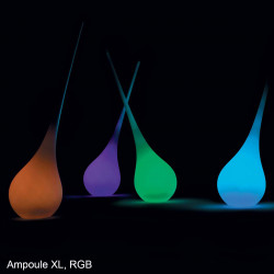 Vase lumineux Ampoule, MyYour lumineux RGB Taille S Outdoor